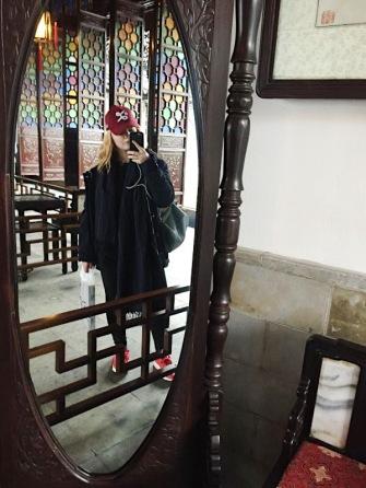 Ancient Mirror Selfie - Suzhou