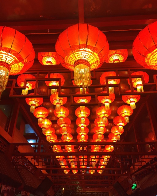 Lanterns in the Hutongs