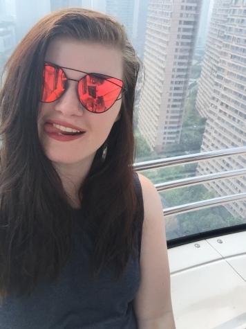 Cheeky selfie